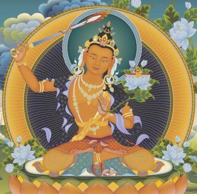 Manjushri 2 - Tharpa Artwork