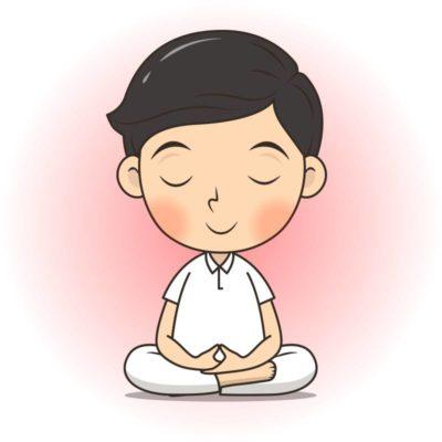 homme en medit