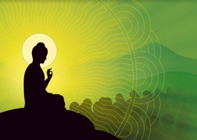 tourner la roue du Dharma